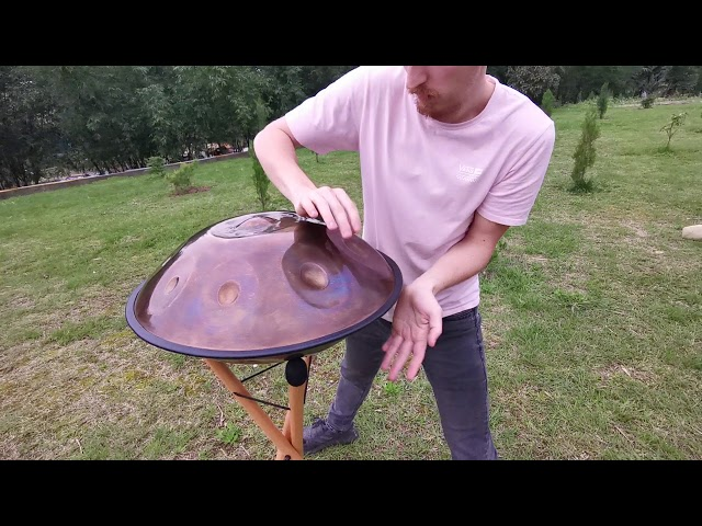 Our First Ever 13 Note Handpan (in D Minor) | Generation 7 |  Novapans Handpans