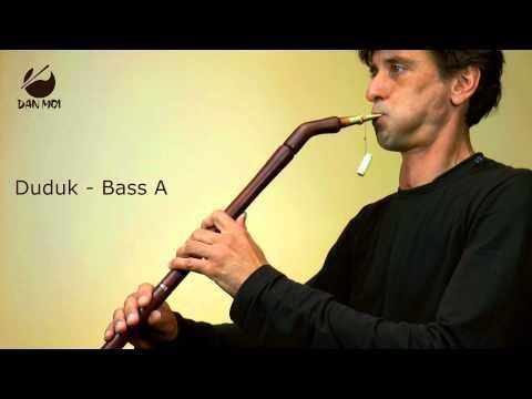 Full chromatic duduk - clarinet key of G by flute alto