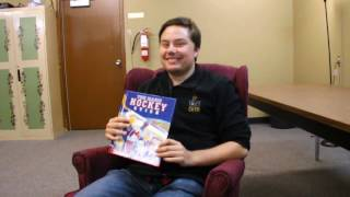 Matthew Higgs reading The Magic Hockey Stick by Peter Maloney | Read Aloud