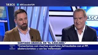 Entrevista Santiago Abascal en TRECE TV en El Cascabel 12.11.2018