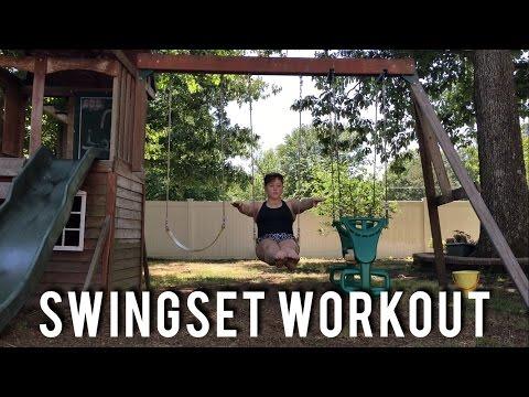 Swingset Workout