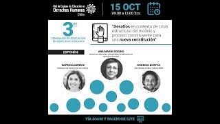 Presentación Patricia Muñoz. 3er Seminario de Educación en Derechos Humanos REEDH. Chile. 15-10-2020