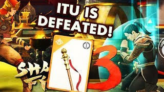 Shadow Fight 3. Defeating ITU on HARD Difficulty. HUGE PACK OPENING, NEW EPIC WEAPON!!!