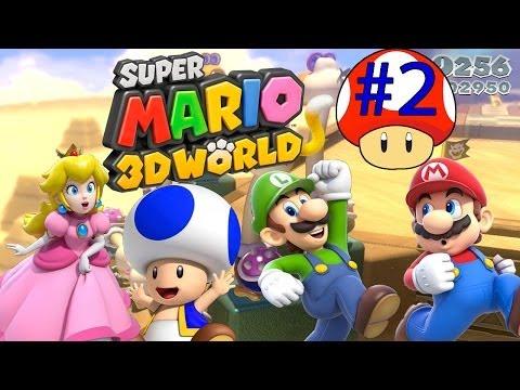 ABM: Super Mario 3D World (Walkthrough # 2) HD