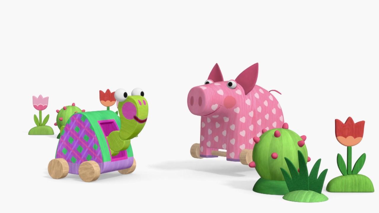 Деревяшки - серии про животных!  | Мультфильмы для детей