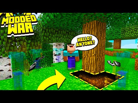 My EVIL Minecraft Team Is Secretly GRIEFING This Minecraft Server.. - Minecraft War #2