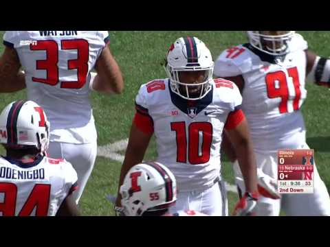 2016 - Illinois at #15 Nebraska