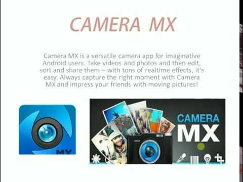 BEST CAMERA APPS FOR ANDRIOD