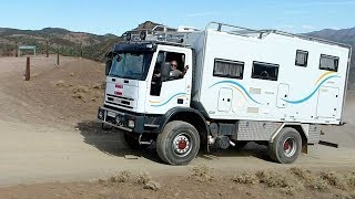 Margrit and Franz 4x4 Iveco Tector Truck Motorhome