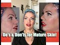 DO's & Don'ts of Pinup Makeup for Mature Skin! by CHERRY DOLLFACE