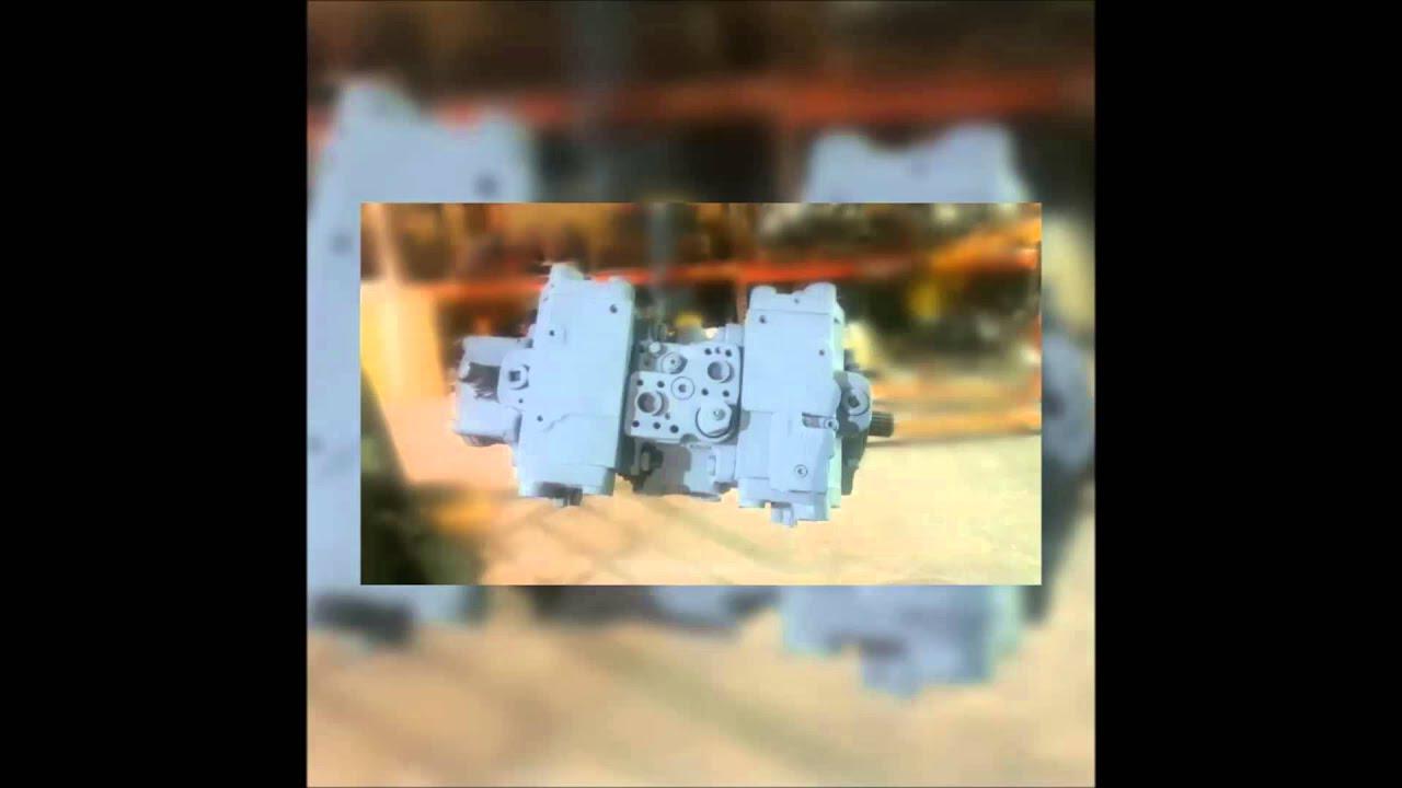 komatsu excavator hydraulic pumps youtube rh youtube com