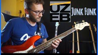 Junk Funk BassCover Alain Caron Bass Cover UZEB Basso fretless Sire V7