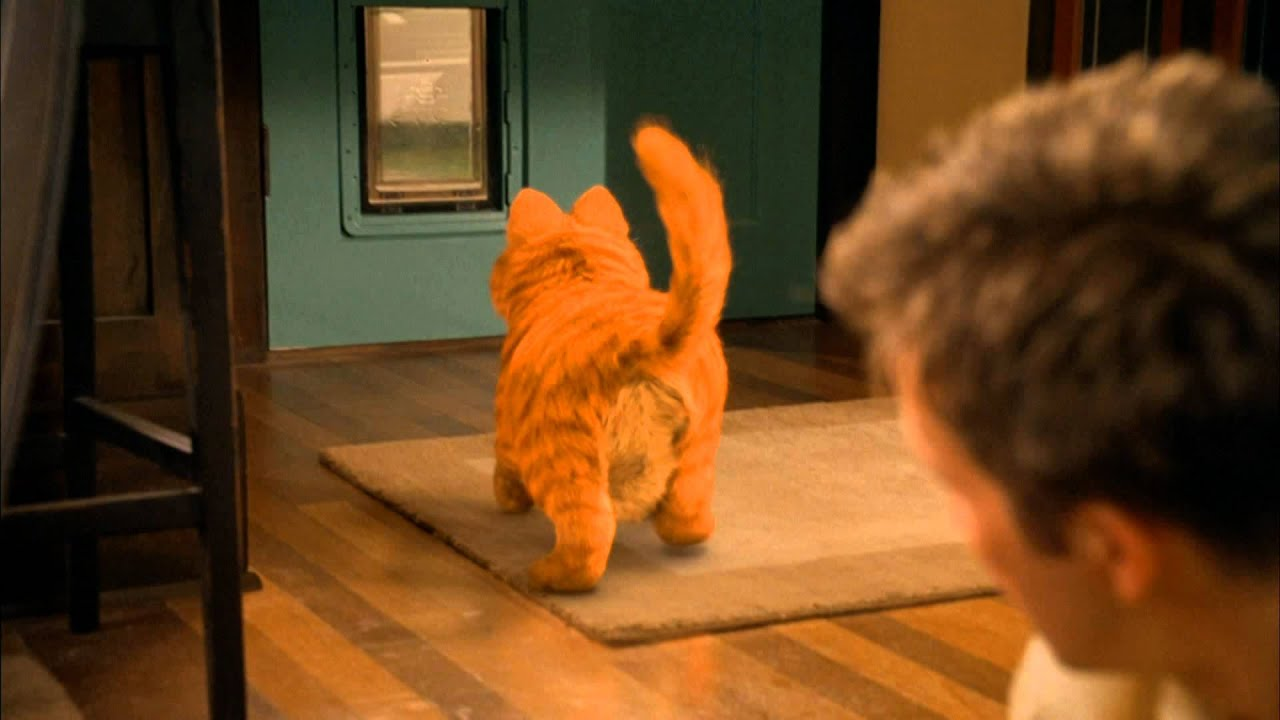 Trailers For Less >> Garfield O Filme Dublado - YouTube