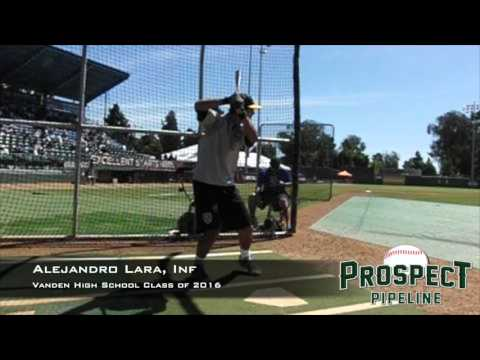 Alejandro Lara, Inf, Vanden High School, Swing Mechanics at 200 FPS