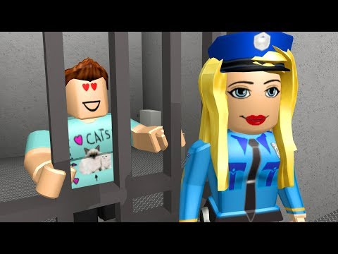 Thumbnail: I FELL IN LOVE WITH A POLICE OFFICER IN JAILBREAK - Roblox Adventures