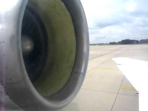 SarAvia Yak-42D - Engine Start-up Sequence at Hanover Langenhagen Airport (HAJ), Germany