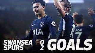 FERNANDO LLORENTE AND DELE ALLI GOALS | Swansea 0-2 Spurs