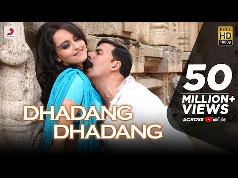 Dhadang Dhadang  -- Official Full Song Video Rowdy Rathore Akshay Kumar, Sonakshi Sinha, Prabhudeva.
