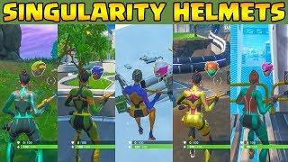 How to Unlock Singularity all Skin Variants | Helmet Location | Fortnite Battle Royale