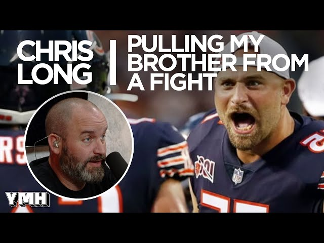 Chris Long Pulls His Brother From A Fight - Tom Talks Highlight