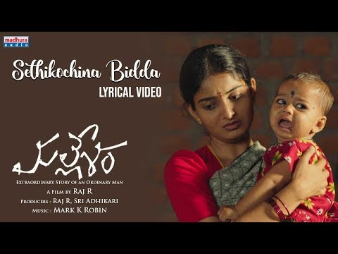 Sethikochchina Biddaa Lyrical Video | Mallesham Movie | Priyadarshi | Ananya | Raj R  | Mark K Robin