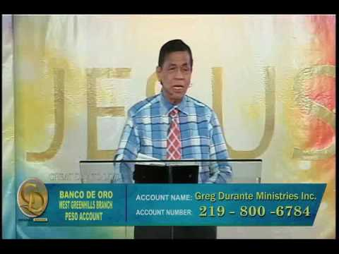 God preserves what is important to HIM (Tagalog)