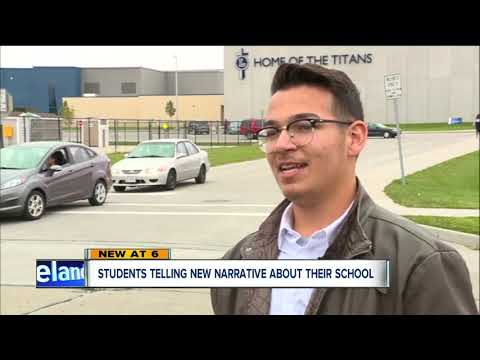 Lorain High School students highlight positive in school in light of recent issues