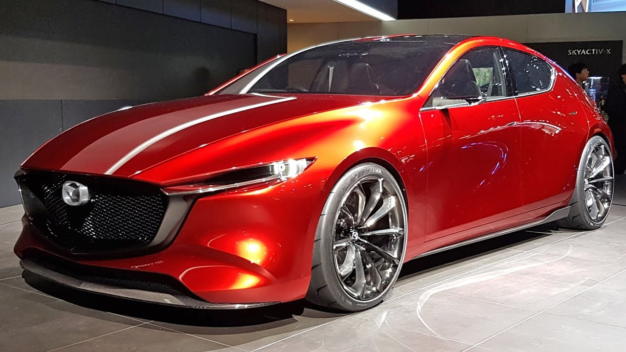 Quick Look Mazda Kai Concept 2018 Mazda 3 Youtube