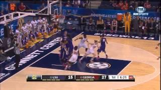 03/08/2013 LSU vs Georgia Women's Basketball Highlights