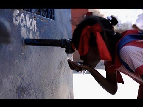 Clean water brings hope to poor neighbourhoods in Haiti
