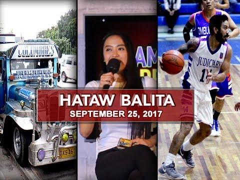 UNTV: Hataw Balita (September 25, 2017)