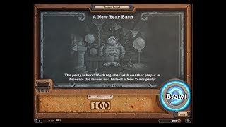 Hearthstone: 100 Wins (New Years Bash) Tavern Brawl