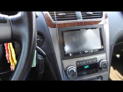 My 2012 Malibu LTZ with double din radio Retain all factory