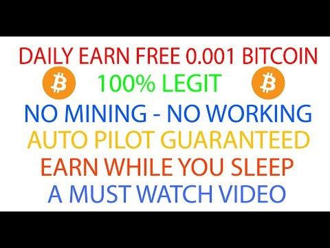 Earn 0.001 Btc Daily | CoinSurfer | Earn While You Sleep - Earn Unlimited Bitcoin