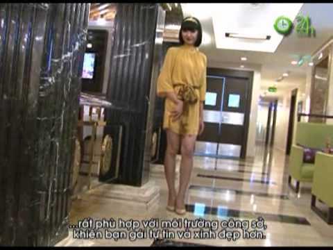 Video Tự tin khoe dáng với váy liền công sở - Thoi trang 24h.flv