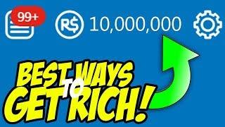 The Best Ways To Get Rich In Roblox