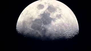 暖かい夜だ!春なのだな、見上げると月が煌々と輝いている、なにか神秘...