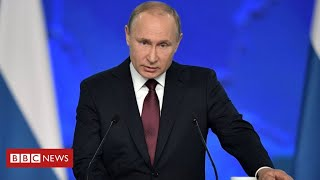 Coronavirus: fears that Putin has been exposed to infection - BBC News