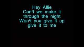 The Bunny The Bear - Hey, Allie (Lyrics)