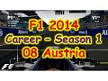 F1 2014 - PS3 - Career Mode - Season 1 Williams - 08 Austria
