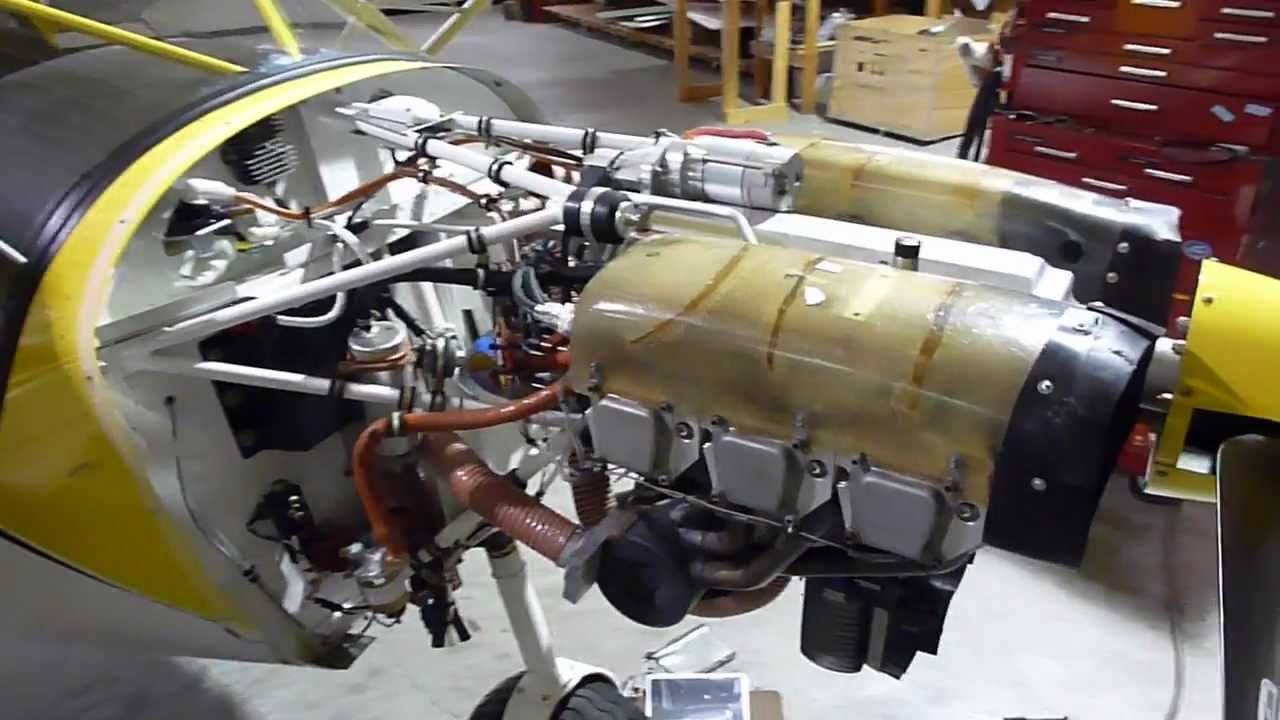 Jabiru 3300 six-cylinder engine on the STOL CH 750 Light Sport Utility Plane