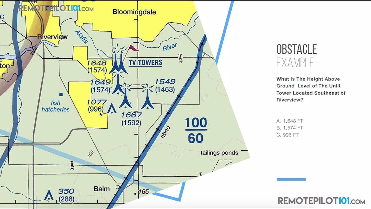 Understanding Chart Symbols Faa Part 107 Knowledge Test Remote