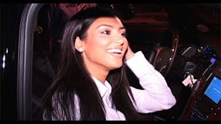 Kim Kardashian And Reggie Bush At The Ivy [2008]