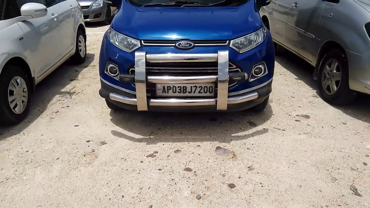 Ford Ecosport  India With Front Chrome Grill
