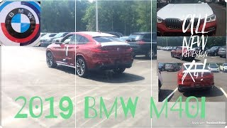 All New!! 2019 BMW X4 M40i