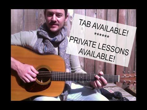 arthur mcbride (open g tuning) free guitar lesson