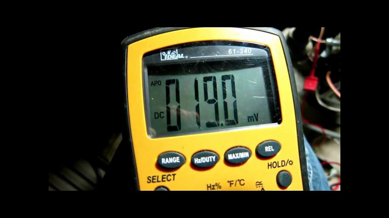 Measure Testing Furnace Thermocouple Troubleshooting