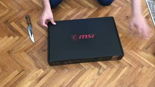 MSI LAPTOP KUTU AÇILIMI