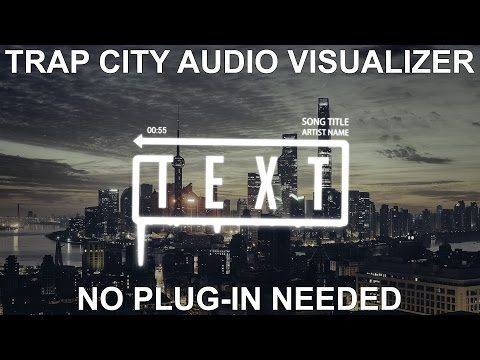 After Effects Tutorial: Audio Spectrum Effect [Trap City]