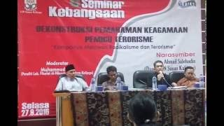 Download Video DEKONSTRUKSI PAHAM AGAMA PEMICU TERORISME (Dr. H. Fahruddin Faiz) MP3 3GP MP4